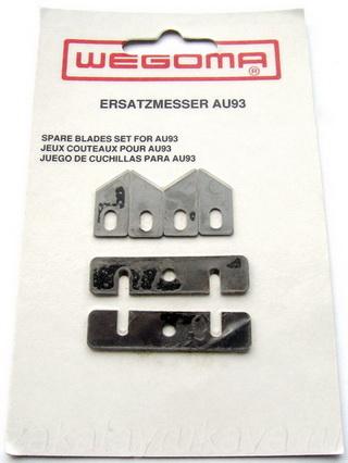 Упаковка с запасными ножами для подрезателя WEGOMA AU93.