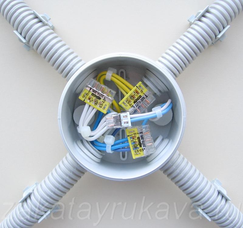 Соединения проводников в
