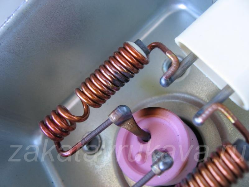 Ремонт колпачка магнетрона микроволновки своими руками 54