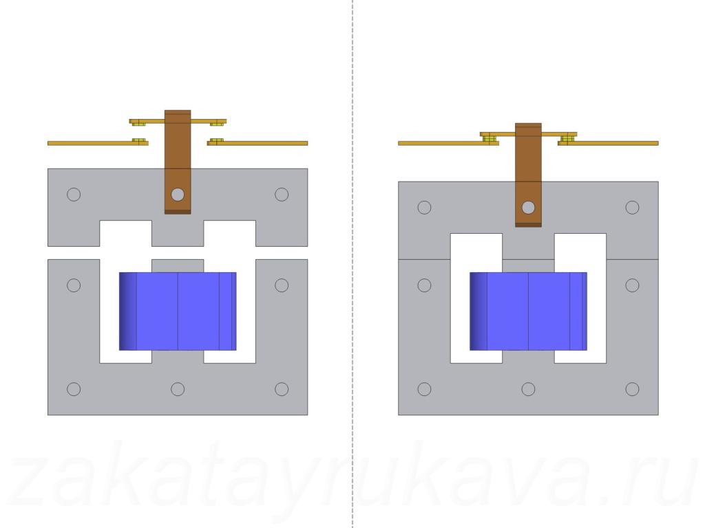 h электрические схемы 41 пускателей
