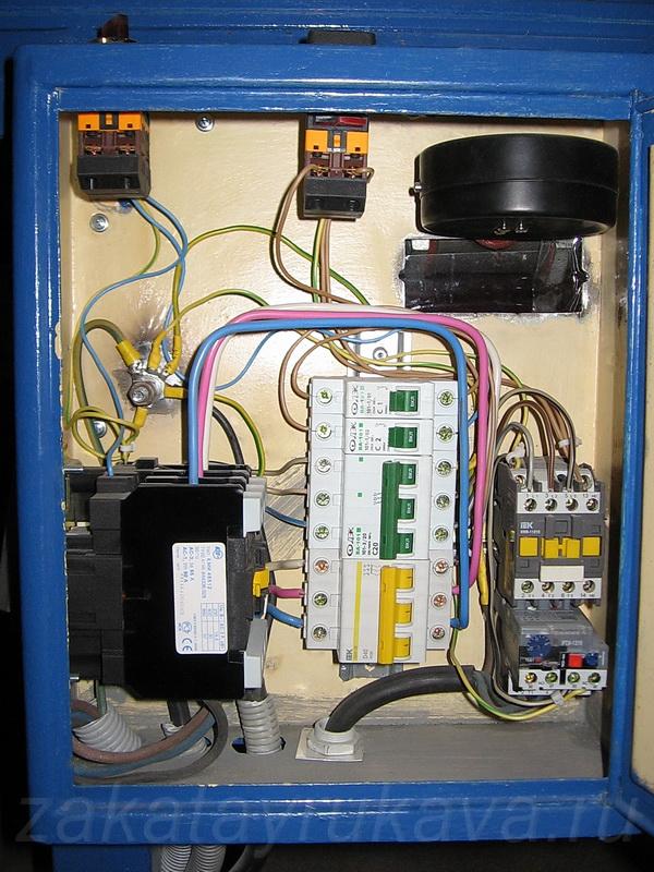 Шкаф электроуправления прессом