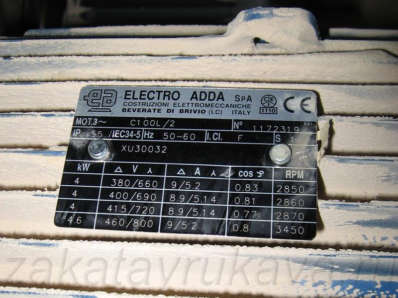 Двигатели станка (фото слева).