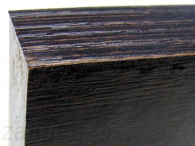 Кромка ABS, обрезанная инструментом WEGOMA KG94.