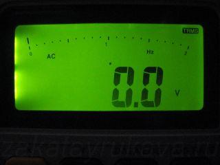 Подсветка экрана цифрового мультиметра APPA 107N.