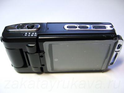 Экран видеорегистратора ParkCity DVR HD 520.