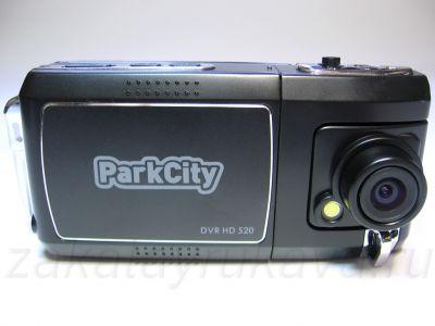 Видеорегистратор ParkCity DVR HD 520. Вид спереди.