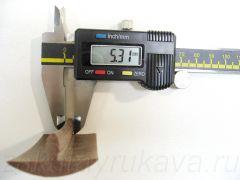 Кант ПВХ врезной для ДСП 32 мм, без обхватов, итальянского производства. Толщина шипа = 5,3 мм.