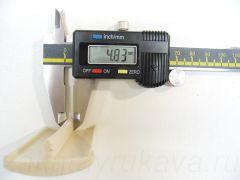 Кант ПВХ врезной для ДСП 32 мм, без обхватов, китайского производства. Толщина шипа = 4,8 мм.