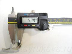 Кант ПВХ врезной для ДСП 32 мм, с обхватами, итальянского производства. Толщина шипа = 4,1 мм.