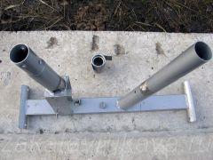 Рама велотренажера Energetics CT 80 Magnetic. Удаление старого стального профиля.