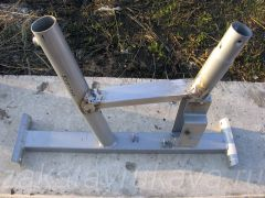 Рама велотренажера Energetics CT 80 Magnetic. Сварка нового стального профиля.