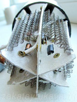 Нагревательный элемент фена Rowenta CV 4030.