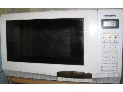 Микроволновая печь Panasonic NN-G335WF отремонтирована.
