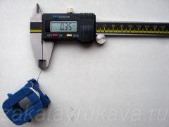 Диаметр провода (по меди) для намотки. D = 0,35 мм.