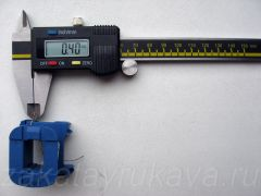 Диаметр провода (по лаку) для намотки. D = 0,40 мм.