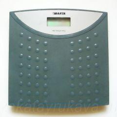Весы электронные напольные MARTA MT-1650. Вид сверху.