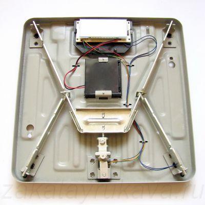 Внутреннее устройство электронных весов MARTA MT-1650.