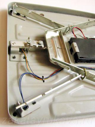Рычажная система весов MARTA MT-1650.