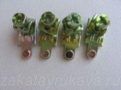 Контактор ИЕК КМИ-11210. Демонтированные контакты.