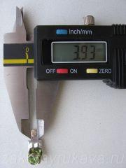 Контактор ИЕК КМИ-11210. Диаметр контактной напайки 4 мм.